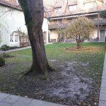 Innenhof des Bürgerheims